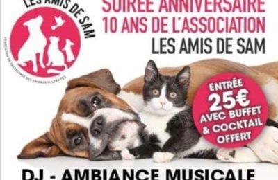Soirée anniversaire : 10 ans des «Amis de Sam»