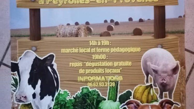 Marché Produits locaux et ferme pédagogique